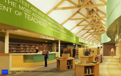 Lewes Public Library Project Proceeds on Schedule Photo