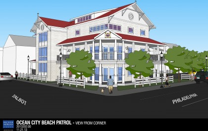 Ocean City Beach Patrol Headquarters Design Approved Photo